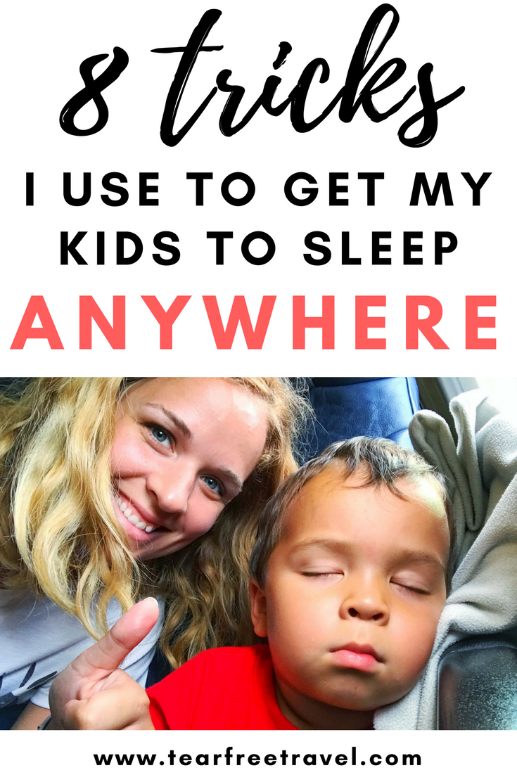 If you are headed on a trip, you'll want to know how to get your kids to sleep on vacation! Here are my tricks for getting your toddler to sleep while traveling, and keeping your baby on a sleep routine 'on the go'. These sleep tricks for toddlers and baby sleep advice will help to keep your kids well-rested on vacation. I'll review my favorite sleep aids like toddler sleep sacks, baby sleepsuits as well as the best toddler travel beds and sleepers #sleep #babysleep #toddlersleep #toddlertravel