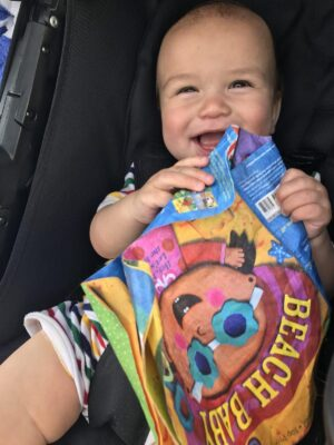Top baby travel gear: indestructible book