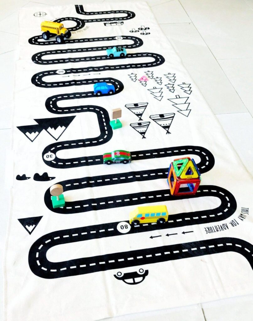 The Best Toddler Travel Toys: Street Map Rug