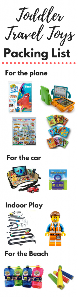 I've come up with a list of the best travel toys for toddlers that have kept my kids entertained on vacation. I'll cover the best toys for traveling with toddlers, including toys for toddlers on airplanes, car travel toys, and toys for the beach. The ultimate list of the best travel toddler toys! #toys #toddler #toddlertoys #kidstravel