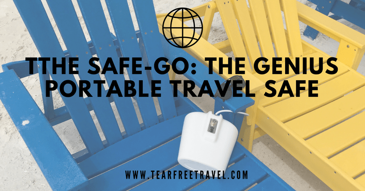 The Safe-Go: The Genius Portable Travel Safe