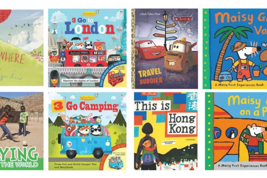 10 books to get your kids excited about travel