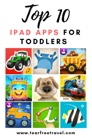 Wondering what are the best iPad apps for toddlers? These apps got me through a long flight with a 2-year-old. Fun and educational, these are the top toddler apps that my little guy loves. Click through to find out more! #kidstablet #apps #ipadapps #toddlerapps #bestipadgames #kidslearningapps #bestappsfortoddlers #educationalipadapps #babyapps #ipadappsforkids #educationalappsfortoddlers #toddlerapps #planewithtoddler #planewithbaby #appsfor2yearolds #ipadappstoddlers #ipadappskids