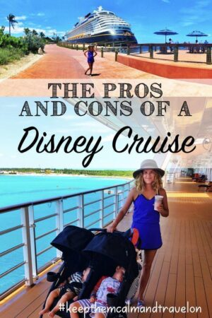 Wondering whether to book a Disney cruise? Read my unbiased review of our 3-night cruise aboard the Disney Dream here to help you with your planning. A list of pros and cons of a Disney Cruise. #disney #disneycruise #disneycruiseline #disneycruisebahamas #disneycruisetoddlers #disneycruisebaby #disneytips #disneycruisetips #disneydream #disneydreamreviews