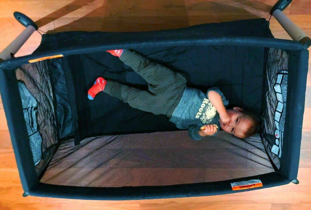 Traveling Toddler Bed