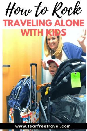 Thinking of a one parent holiday? Traveling with toddlers and taking an airplane with a baby is hard enough. Throw solo parent travel into the mix and the struggle is real. Navigating the airport security, check-in process and finally the plane itself is a challenge but the experience is worth the stress! Here are my best tips for rocking the single parent travel with a child. #soloparent #soloparenttravel #travelwithkids #airportwithbaby #airplanewithbaby #toddlertravel #oneparenttravel