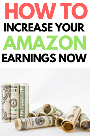 Wanting to increase your amazon affiliate earnings? Click through to find out the 5 SUPER EASY strategies I've used to get high conversion and lots of clicks to my amazon links on my (SMALL) blog. #amazon #amazonaffiliate #amazonaffiliatelinks #amazonaffiliateprogram #blog #blogging #bloggingtips #momtrepreneur