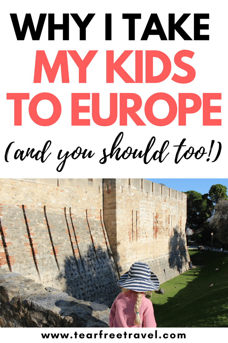 Why travel Europe with kids? In this post you'll discover the many reasons why traveling to Europe with kids is an amazing family experience. We'll share some tips for europe travel with a toddler, and why Europe is #1 for 'kid-friendly' activities and experiences. With so much to explore and discover, even on a budget, Europe with kids is the ultimate family vacation. Pin this for your next adventure #travel #europe #familyvacation
