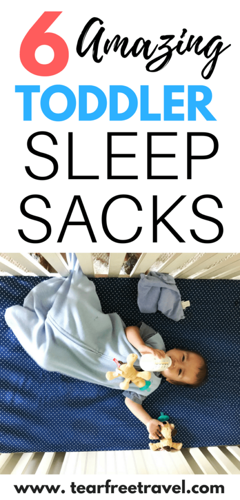 Are you looking for the best toddler sleep sacks? I've tried them all and I've got a head-to-head comparison of the best toddler sleep bags for every season. If you are searching for a winter sleep sack or a summer sleep sack I will cover the best options for your toddler. If you have a tall toddler, I'll cover sleep sacks that come in extra large sizes, even for kids from age 4 to age 7. Pin this list of the best toddler sleep sacs for later! #toddler #toddlersleep #toddlergear