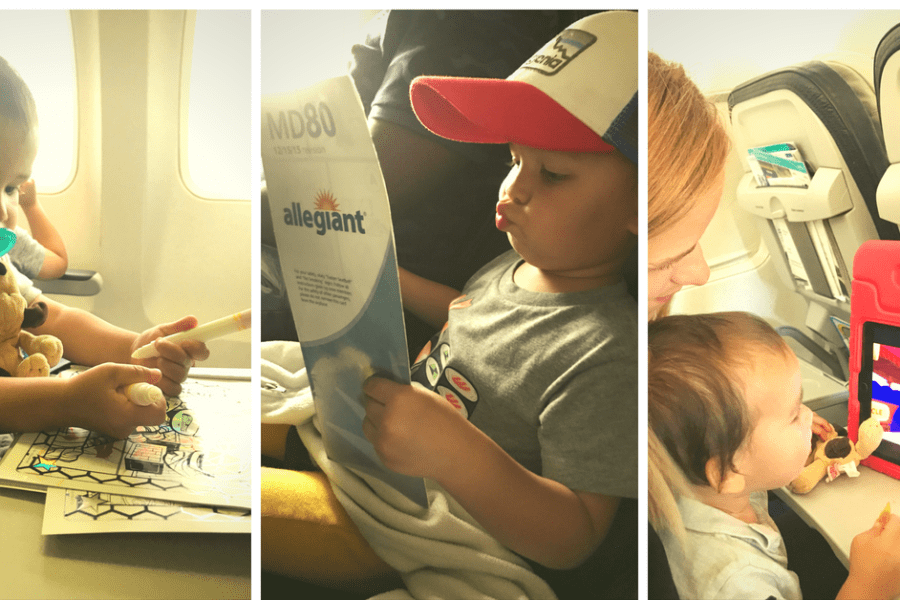 These clever activities finally kept my toddler entertained for an ENTIRE flight