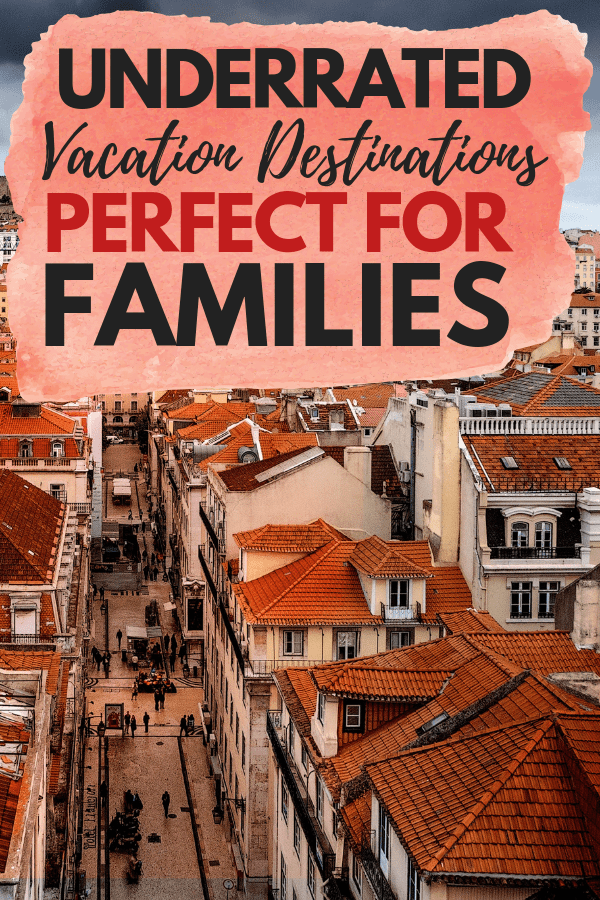 There are so many underrated travel destinations that are perfect for families! If you are looking for a family vacation that is off the beaten path, these ideas are for you. From Peru to Finland, we cover all the best family vacation destinations for your next trip. Pin this to your family travel board for your next trip! #vacation #travel #familytravel #familyvacation #vacationideas #travelisnpiration