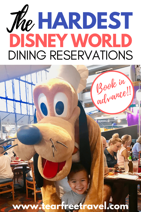 What are the best Disney World Dining Reservations? These are the most popular and hardest disney world dining reservations to secure for your next trip. Book in advance to score a reservation to these awesome disney world restaurants! We will cover how to book your disney dining reservation in advance, and when you can book. Pin this for your next trip to Disney World and don't be disappointed with busy lines and waits on your trip! #Disney #Disneyworld