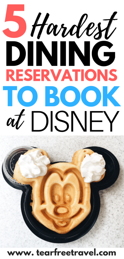 Planing a trip to Walt Disney World? These are the hardest Disney World Dining Reservations to secure. From charter dining to signature dining, these are the best and most popular restaurants at Disney World. We will cover how to book Disney dining reservations and when is the best time to book. Check out our tips to book the best disney dining restaurants in advance. #disney #disneyworld