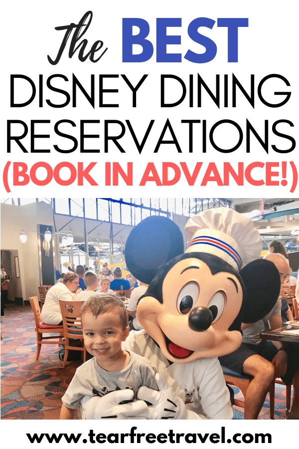 These are the best disney dining reservations! They are also the hardest disney dining reservations to secure so make sure you book in advance! In this article we will review the hardest disney dining reservations and how to book your disney dining reservations in advance so you don't miss you. From character dining to signature dining, these are the most popular disney world restaurants. Save this for your next disney trip! #Disney #Disneyworld
