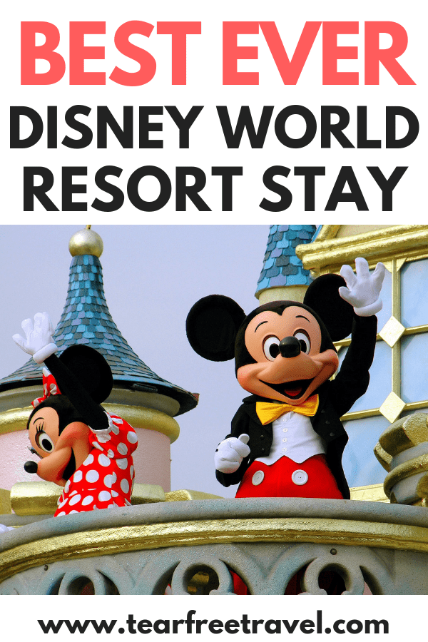 Are you planning a trip to Disney World? Here are our top 5 hacks for the best ever Disney World Resort stay. Staying at a Disney World resort is the icing on the cake to an amazing Disney World vacation. These Disney Resort hacks will help you enjoy your trip. #disney #disneyworld #hacks