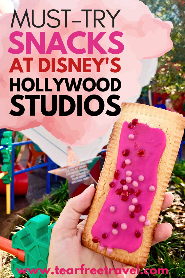 Are you headed to Hollywood Studio? Take a break from the rides to enjoy some of the best snacks at Hollywood Studios. These delicious treats are sure to please anyone. We love these unique snacks that are perfect for a day in the parks. Make use of your dining dining snack credits with these yummy disney snacks.  #disney #disneysnacks #disneydining