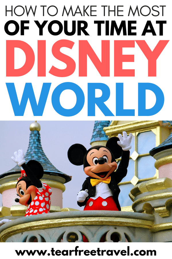 Are you headed to Disney World? Overwhlemed by all the options, parks, and planning? Let us help you! Follow our simple guide to making the most of your time at Disney World without making things complicated. These Disney world tips will make for the perfect Disney vacation! Save our pin for your next Disney World family trip. #Disney #disneyworld