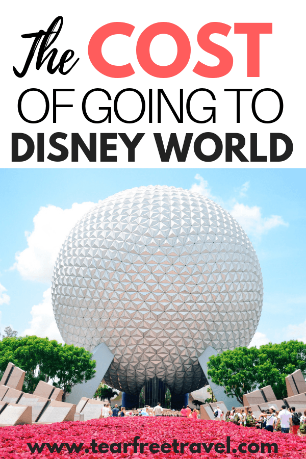 How much does Disney World cost? We will break down the price of a Disney World vacation in this comprehensive post. Plan your budget ahead of time by knowing exactly what type of expenses you will encounter at Disney World. This Disney World budget breakdown will help you plan and budget for your next family vacation at Disney World. #Disney #Disneyworld #Disneyvacation #familyvacation