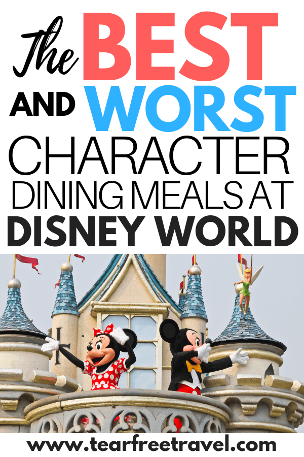 Are you headed on a family vacation to Disney World? You won't want to miss the opportunity for breakfast with Mickey or dinner with Donald! We'll give you the 4-1-1 on the best character dining meals at Disney. These Disney World character dining experiences are the icing on the cake to an amazing family vacation. #disneyworld #disney #disneydining