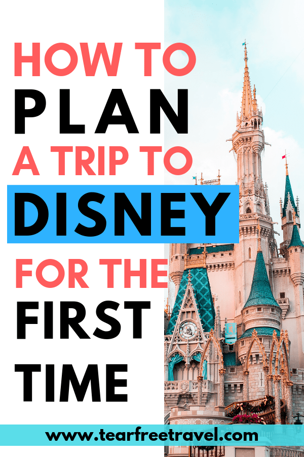 How to visit Disney for the First Time! We've got all the best tips to make planning your first Disney World vacation a breeze. If this is your first time at Disney World you are going to want to read this first! Save time by learning about these Disney vacation planning tips first! #disney #disneyworld #disneyvacation