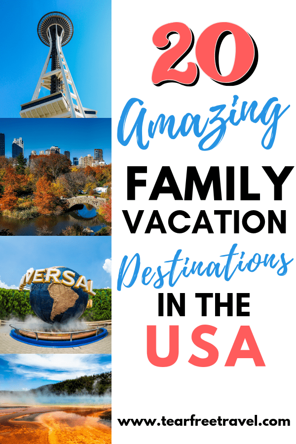 Family friendly vacations