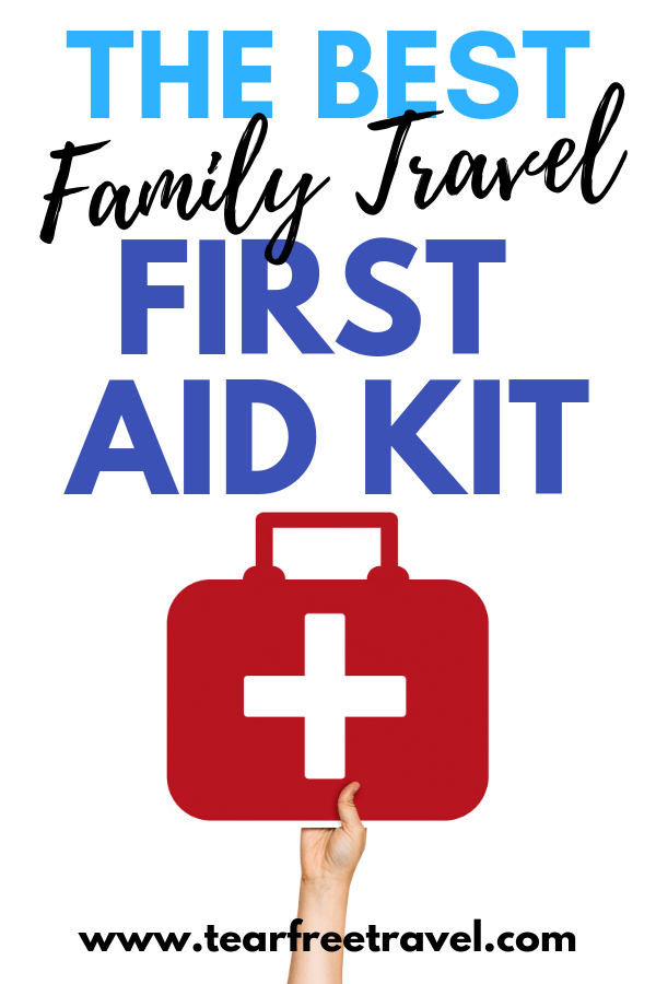 Family Travel First Aid Kit