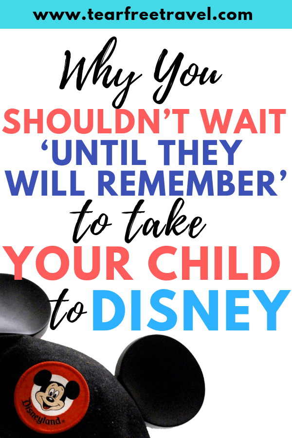 Taking a Toddler to Disney