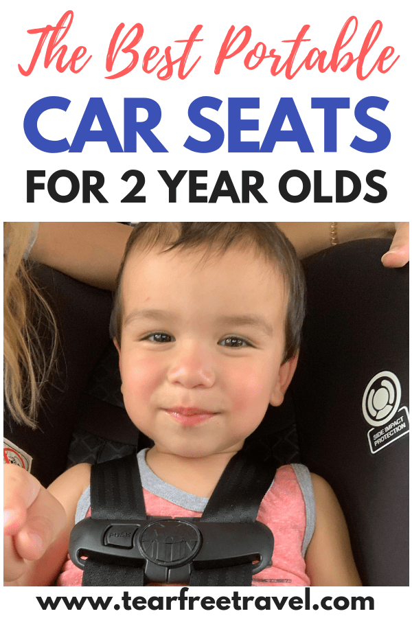 The Best Portable Car Seats for 2 Year Olds