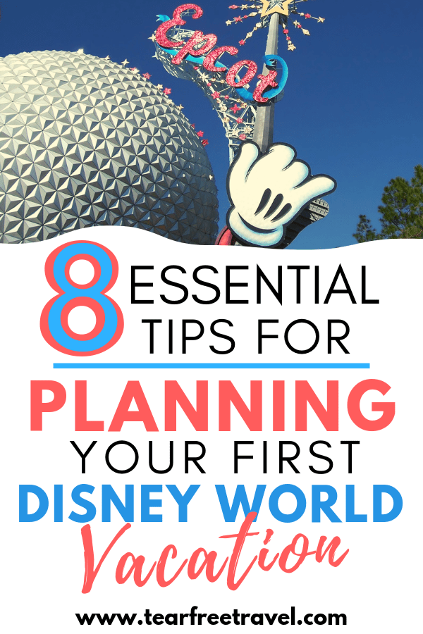 Disney Vacation for First TImers