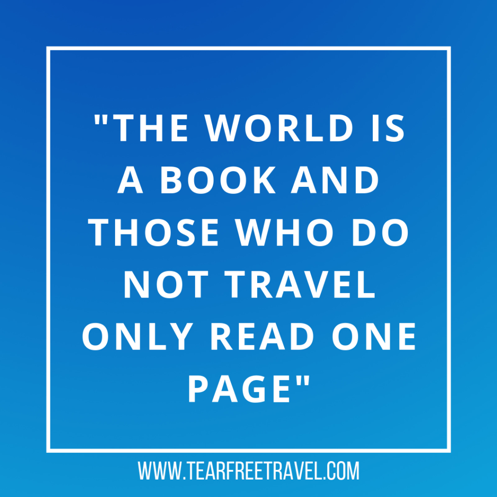 The world is a book and those who do not travel only read one page | Famous Travel quotations