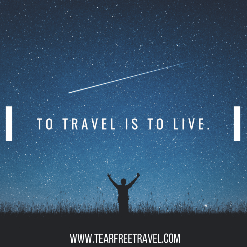 To travel is to live | Inspirational Adventure Quotes