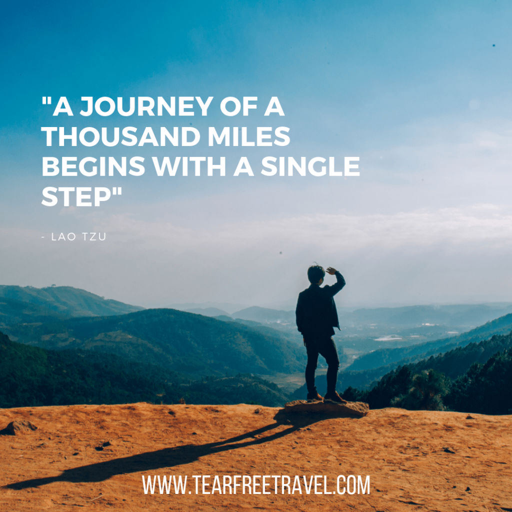 A journey of a thousand miles begins with a single step | Lao tzu quotes