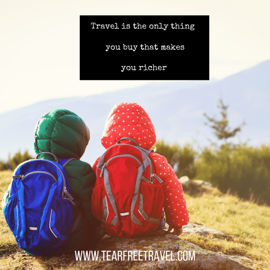 Travel is the only thing you buy that makes you richer | Travel Sayings