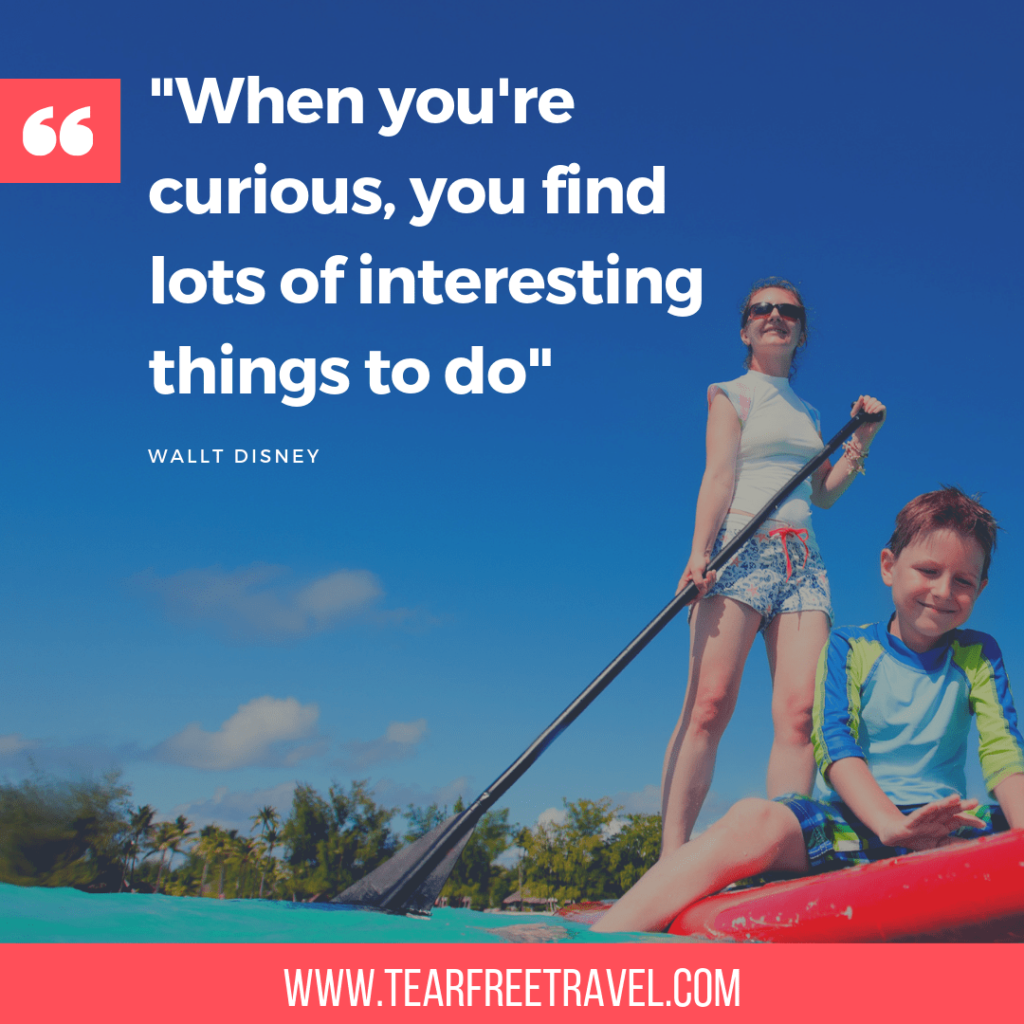 When you're curious, you find lots of interesting things to do | Walt Disney Quotes