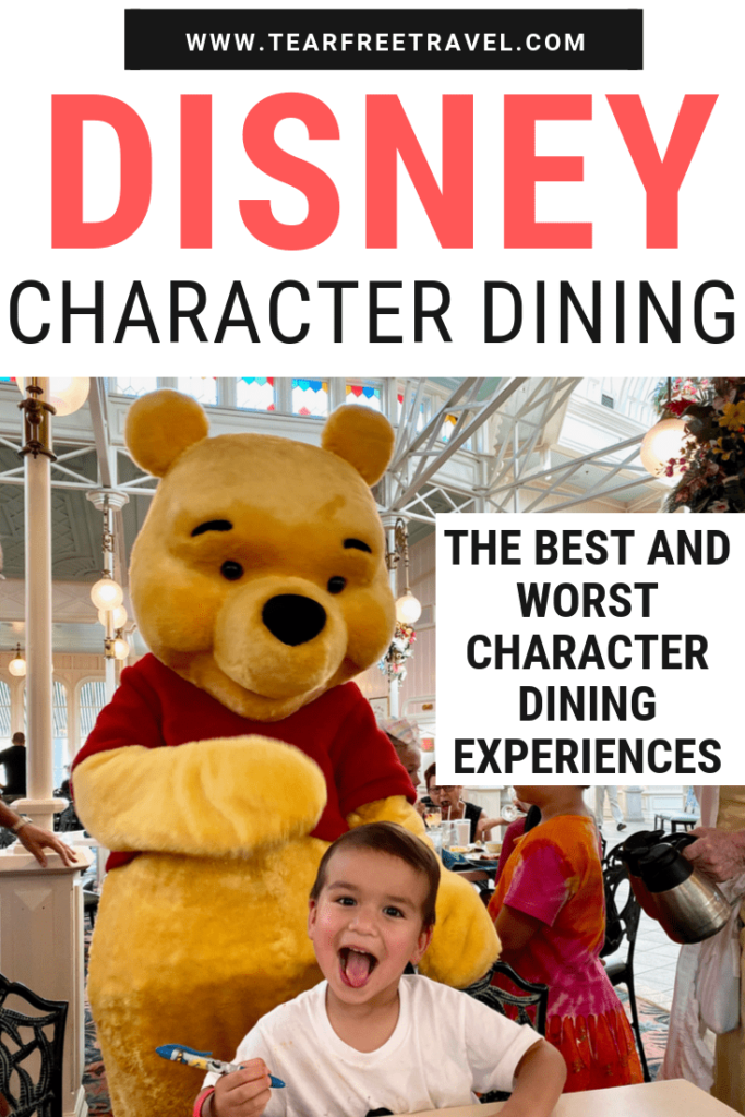 Are you looking for the bet character dining at Disney World? These character dining experiences are the perfect add-on to your Disney World vacation. Don't miss your chance to get up close and personal with the characters at these awesome Disney World character buffets. #disneyworld #wdw #disneyworldplanning #disneyworldtips