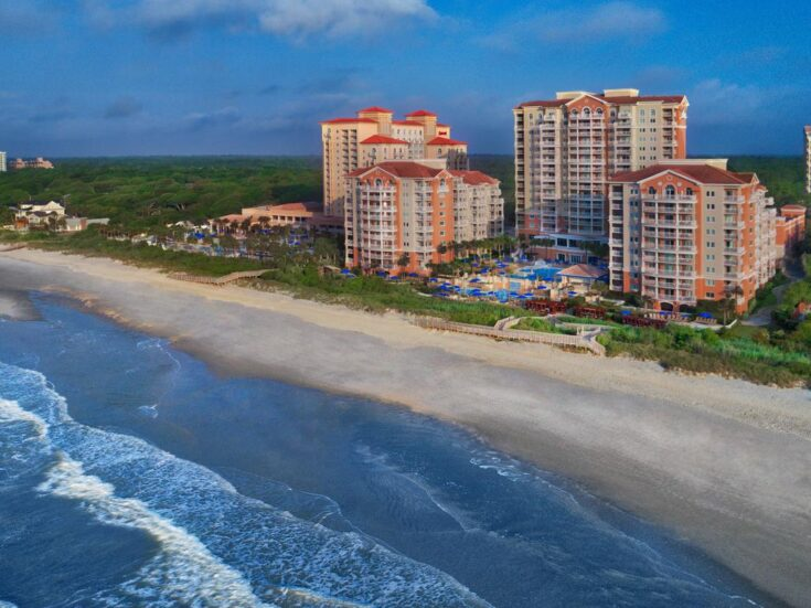 ★★★★ Marriott's OceanWatch Villas at Grande Dunes, Myrtle Beach, USA